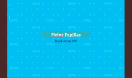 Brand Review Heinz Papillas 2015