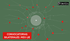 CONVOCATORIAS BILATERALES MEX-UE