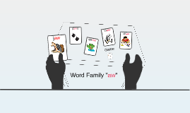 "Word Family ""aw"""