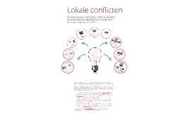 Voorbeelden lokale conflicten