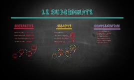 Subordinate