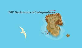 DIY Declaration of Independence