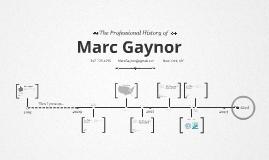 Timeline Prezumé by Marc Gaynor
