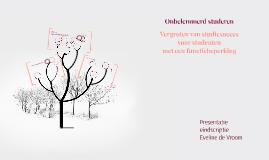 Copy of Vergroten van studiesucces