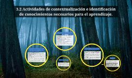 Copy of 3.1 Actividades de contextualización e identificación de con