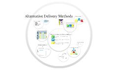Alternate Delivery Method