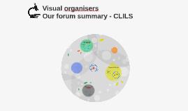 Ways we've used visual organisers