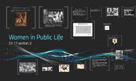 C17S2: Women in Public Life