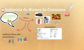 Industria de Bienes de Consumo