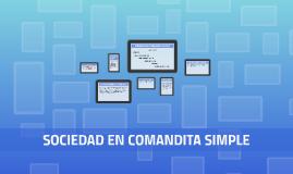 SOCIEDAD EN COMANDITA SIMPLE