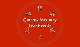 Queens Memory Events