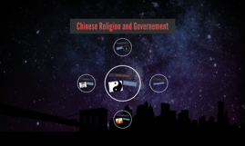 Chinese Religion and Governement