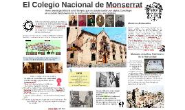 El Colegio Nacional de Monserrat