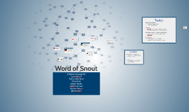 Word of Snout