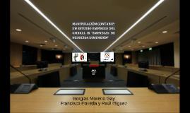 """MANIPULACIÓN CONTABLE: UN ESTUDIO EMPÍRICO DEL UMBRAL IS """"EM"""