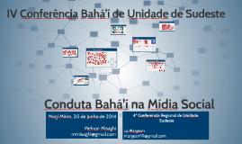 Copy of Conduta Bahá'í na Mídia Social II