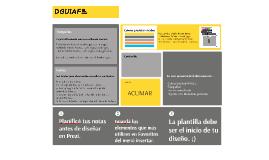 Presentación nueva Plantilla DGUIAF 2017