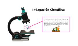 Indagación Científica