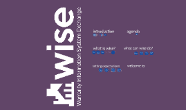 wise - introduction