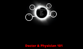 Doctor & Physician