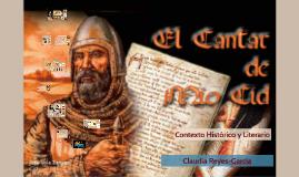 El Cantar de Mio Cid Contexto historico y literario