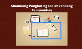 Copy of Sinaunang Pangkat ng tao at kanilang Pamumuhay
