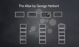 The Altar by George Herbert
