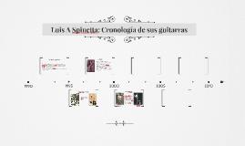 Luis A Spinetta: cronología de sus guitarras