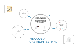 Copy of  FISIOLOGÍA GASTROINTESTINAL