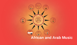 African and Arab Music
