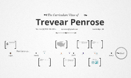 Timeline Prezumé by Trevear Penrose