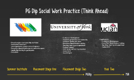 PG Dip Social Work Practice (Think Ahead)