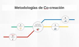 Metodologías de Co-creación