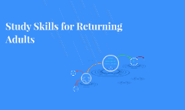 Copy of Study Skills for Returning Adults