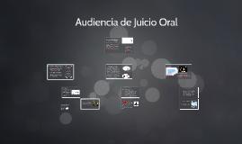 22 Clase: Audiencia de Juicio Oral