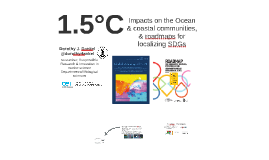 1.5°C – impacts on the Ocean & Roadmaps