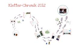 Kletter-Chronik 2012