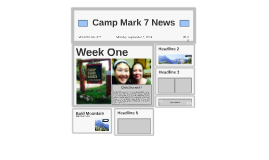Camp Mark 7 News
