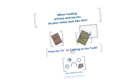Reading Strategy: Talking to the Text - The T4 method