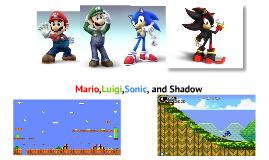 Mario,Luigi,Sonic,and Shadow