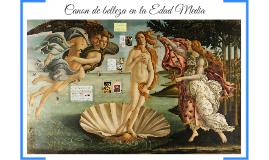 Cánon de belleza en la EdaMedia