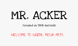 About Mr. Acker