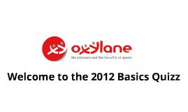 Basics Quizz 2012 - ASIA