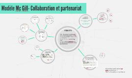 Modèle Mc Gill- Collaboration et partenariat