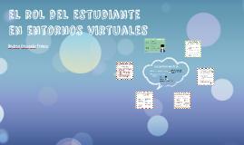 El rol del estudiante en entornos virtuales