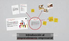 Introducción al emprendimiento empresarial
