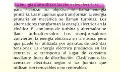 Central eléctrica.