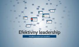 Efektívny leadership