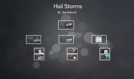 Copy of Hail Storms