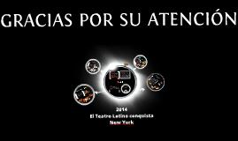 teatro latino conquista NY (4 obras)